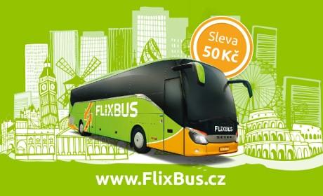 FlixBus – slevové vouchery