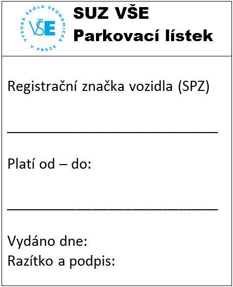 parkovaci listek